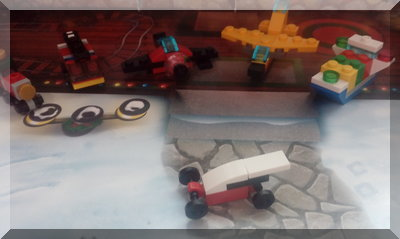 Lego racing car for day 16