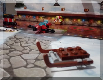 Lego sled from the City advent calendar