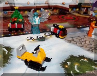 Lego sleigh from advent calendar