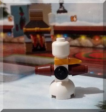 Lego snowman from City advent calendar