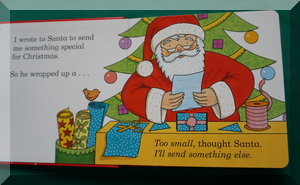 inside pages of Dear Santas