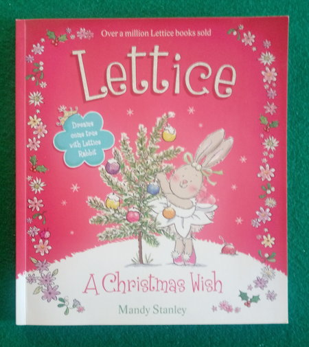 front cover of Lettice's Christmas wish