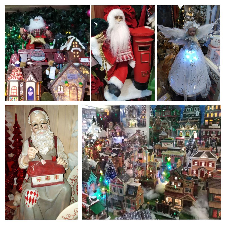 Santa's Place images - Christmas village, fairy, Santa in workshop