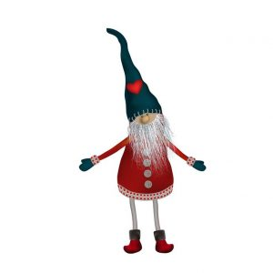 A Nisse toy (Scandanvian gnome associated with Christmas)