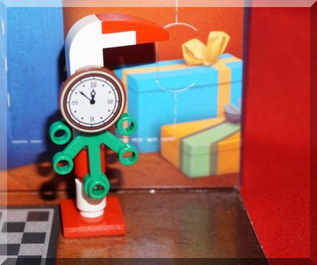 Lego tower clock
