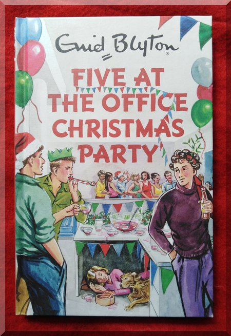 book cover of Five at the office Christmas party