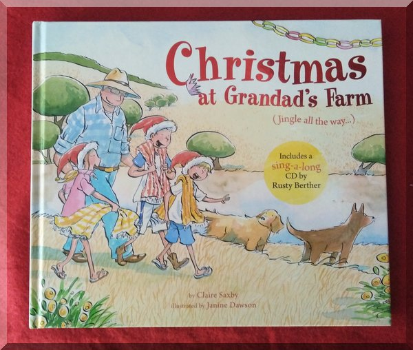 Cover of Christmas at Grandad's farm