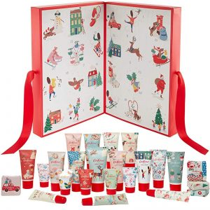 Cath Kidston Christmas Beauty Advent Calendar Gift with Bath and Body Items, 1.11 kg