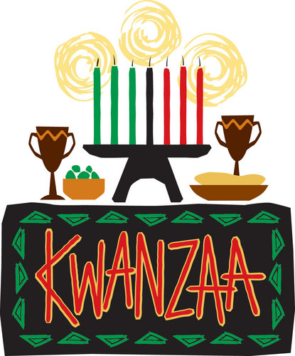 Kwanzaa images in cheerful colours