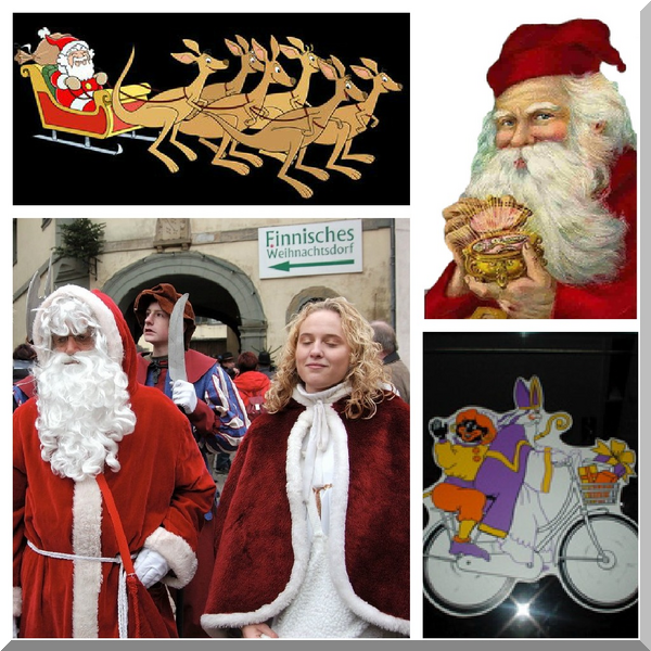 Multicultural Christmas & Santa images