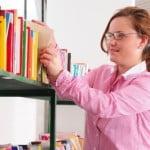 Putting away books