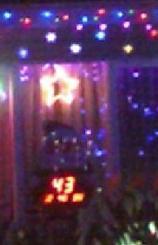 Christmas countdown and lights
