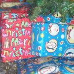 Driving presents all day for Santa