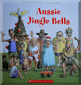 Book cover of 'Aussie Jingle Bells'