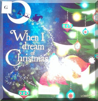 Book cover of 'When I dream of Christmas'