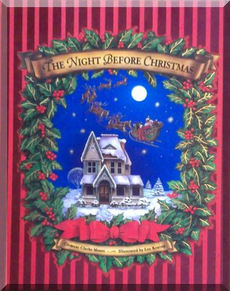 Book cover of 'The night before Christmas'