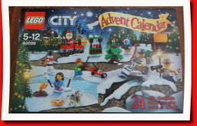 box of the 2015 Lego City advent calendar