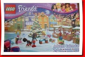 Box of the 2015 Lego Friends advent calendar