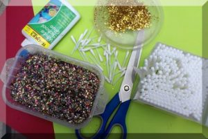 Materials for making bud stars