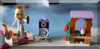 Lego ice-cream stall in advent calendar
