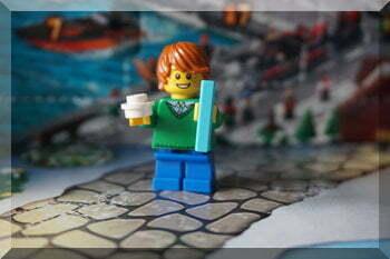 Lego City man from 2015 advent calendar