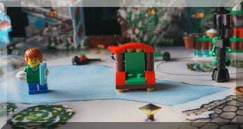 Lego Santa's chair