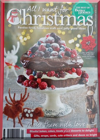 Cover of 'All I want for Christmas' magazine