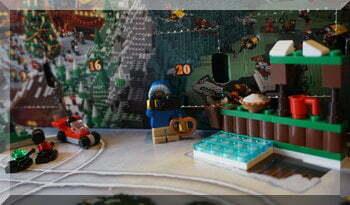 Lego City day four of the advent calendar