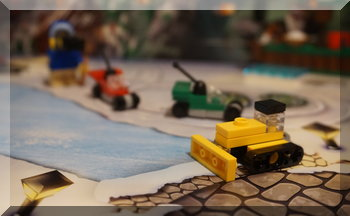 Lego City snow plow - day 6 of advent calendar