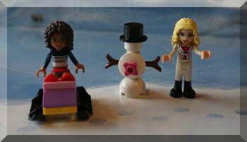 Lego Friends advent calendar - day five