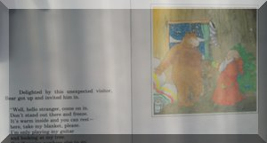 """Inner spread from book """"Wake up, Bear… It's Christmas!"""""""