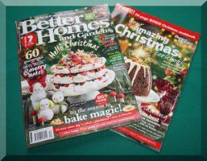Better Homes & Garden Christmas magzine