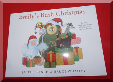 "cover of ""Emily's Bush Christmas"""