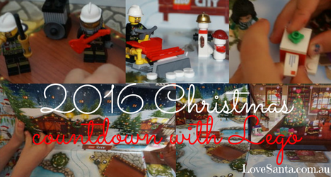 collection of images from teh Lego 2016 advent calendars