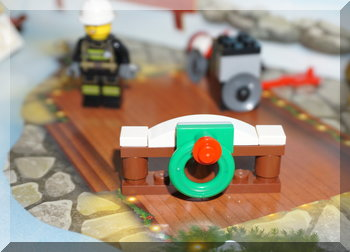 Lego City Christmas wreath