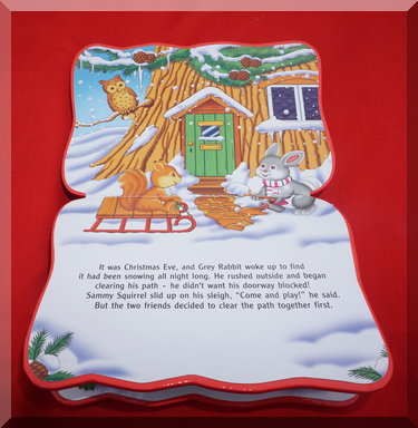Inside of The magic little Christmas tree book