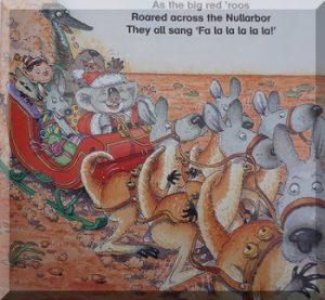 Inner pages from Santa Koala