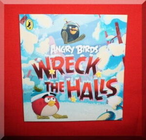 cover of the Angry Birds book, wreck the halls