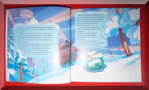 inner pages of Wreck the Halls