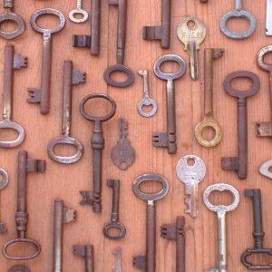 Display of old keys