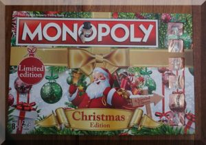 the box from Christmas Monopoly