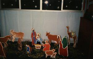 Nativity scene in Alice Springs