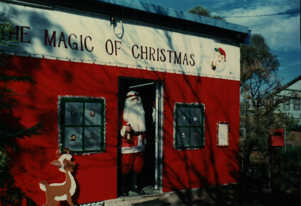 The Magic of Christmas building in Alice Springs