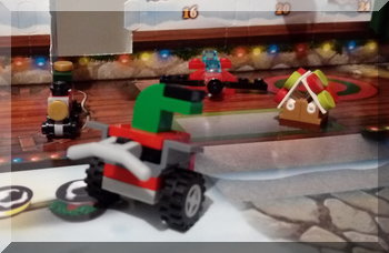 Lego snow machine from the City advent calendar