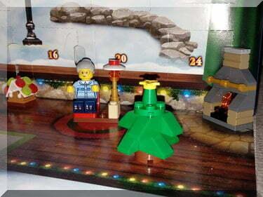 Lego City Christmas tree