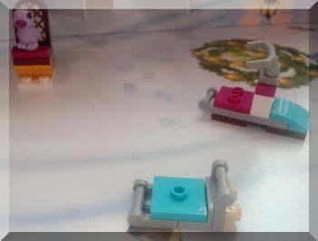 Lego snowmobile trailer