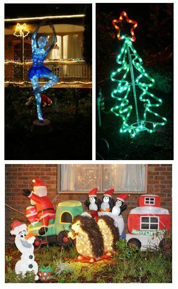 Christmas light display photos