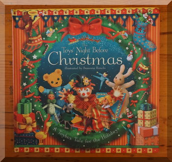 Front cover of The toys'night before Christmas picture book