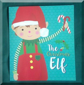 Book cover of The Christmas Elf