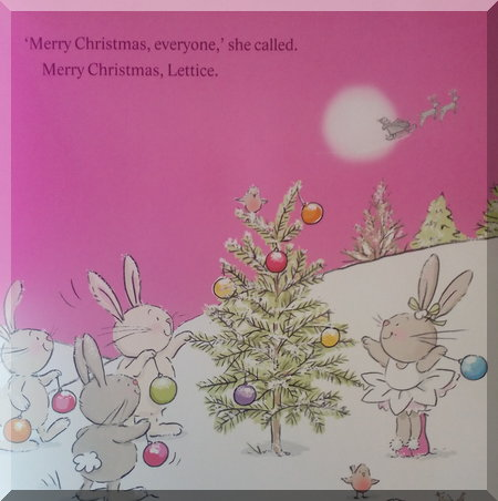 final page of the Lettice Christmas Wish story